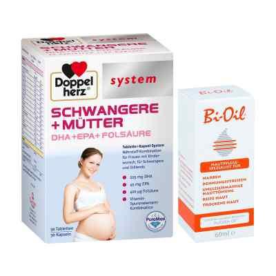 Doppelherz Schwangere  Mütter mit Bi Oil  bei Apotheke.de bestellen