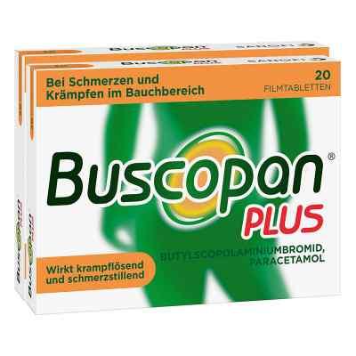Buscopan PLUS Filmtabletten Doppelpack  bei Apotheke.de bestellen