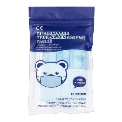 Mund-Nasen-Schutz Maske für Kind M mit Nasenbügel  bei Apotheke.de bestellen