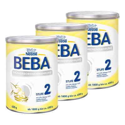 Nestle Beba Frühgeborenen Nahrung Stufe 2 3er Paket bei Apotheke.de bestellen