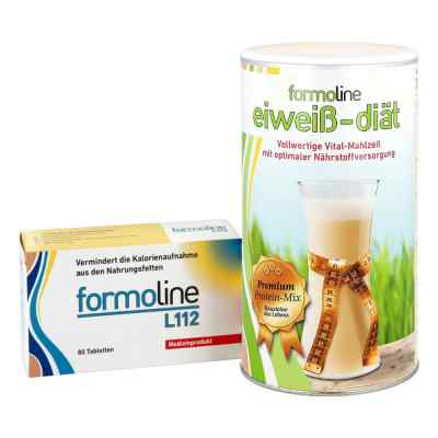 Formoline eiweiss-diät Pulver (480 g) + Formoline L112 Tabletten  bei Apotheke.de bestellen