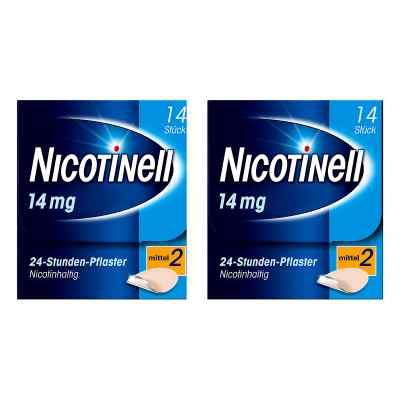 Nicotinell Paket 14 mg (ehemals 35 mg) 24-Stunden-Pflaster  bei Apotheke.de bestellen