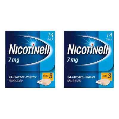 Nicotinell Paket 7 mg (ehemals 17,5 mg) 24-Stunden-Pflaster  bei Apotheke.de bestellen