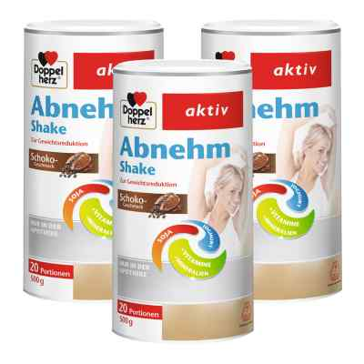 Doppelherz Abnehm Shake Schoko 3er Paket  bei Apotheke.de bestellen
