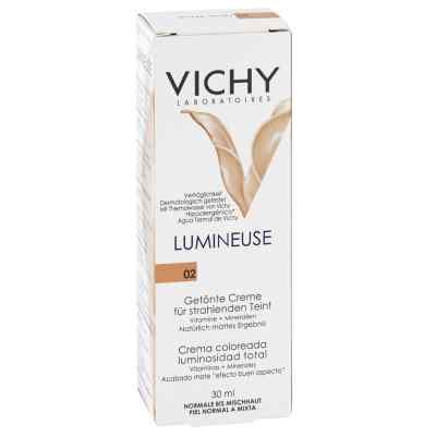 Vichy Lumineuse Mate peche normale/Mischhaut Creme  bei Apotheke.de bestellen