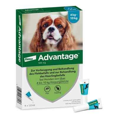 Advantage 100 für Hunde Lösung