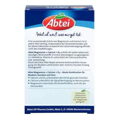 Abtei Magnesium Calcium+d3 Depot Tabletten  bei Apotheke.de bestellen
