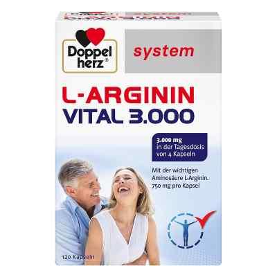 Doppelherz L-arginin Vital 3000 system Kapseln