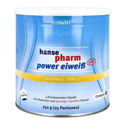 Hansepharm Power Eiweiss plus Vanille Pulver