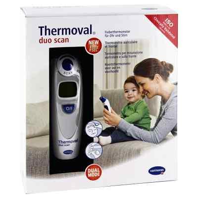 Thermoval duo scan Fieberthermometer für Ohr+Stirn  bei Apotheke.de bestellen