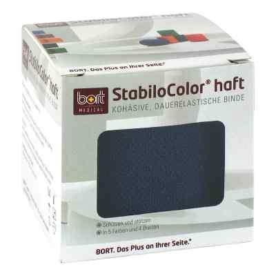 Bort Stabilocolor haft Binde 6cm blau  bei Apotheke.de bestellen