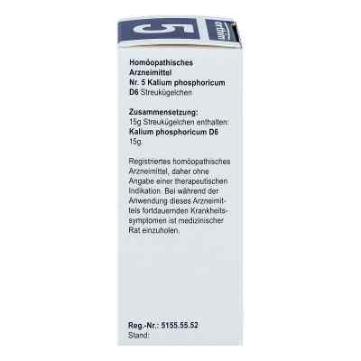 Biochemie Globuli 5 Kalium phosphoricum D 6  bei Apotheke.de bestellen