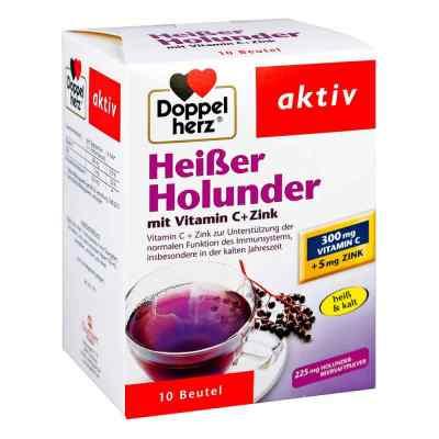 Doppelherz Heisser Holunder mit Vitamin C +Zink Granulat