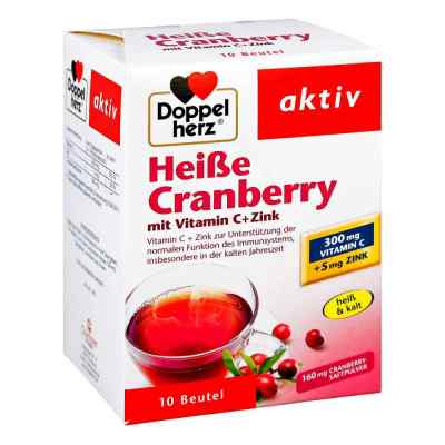 Doppelherz Heisse Cranberry mit Vitamin C +Zink Granulat  bei Apotheke.de bestellen