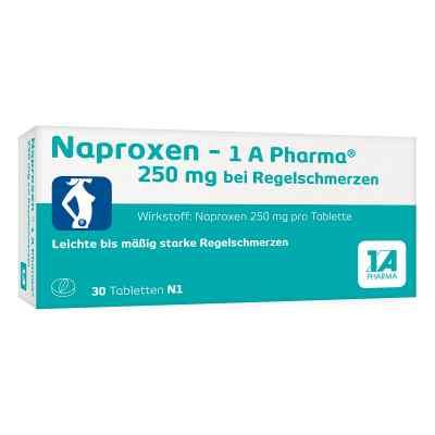 Naproxen-1A Pharma 250mg bei Regelschmerzen  bei Apotheke.de bestellen
