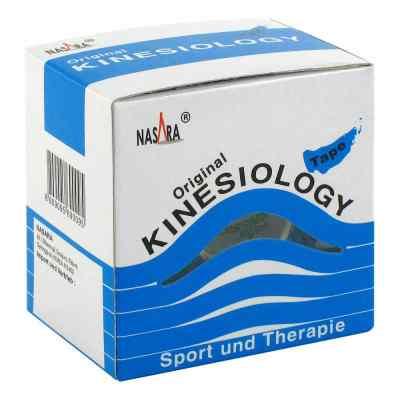 Nasara Kinesio Tape 5 cmx5 m blau inkl.Spenderbox  bei Apotheke.de bestellen
