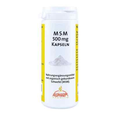 Msm Kapseln 500 mg  bei Apotheke.de bestellen