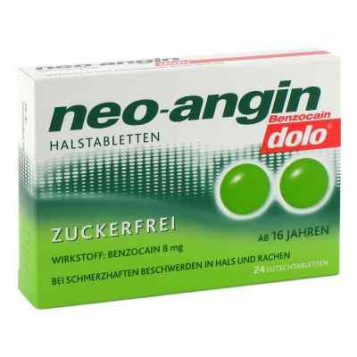 Neo-angin Benzocain dolo Halstabletten