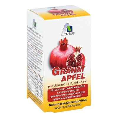 Granatapfel 500 mg plus Vitamine c + B12 + Zink + Selen  bei Apotheke.de bestellen