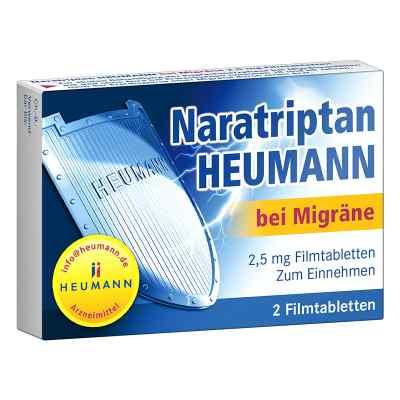 Naratriptan Heumann bei Migräne 2,5mg  bei Apotheke.de bestellen