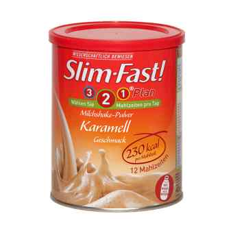 Slim Fast Pulver Karamell