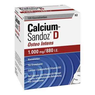 Calcium-Sandoz D Osteo intens 1000mg/880 I.E.  bei Apotheke.de bestellen