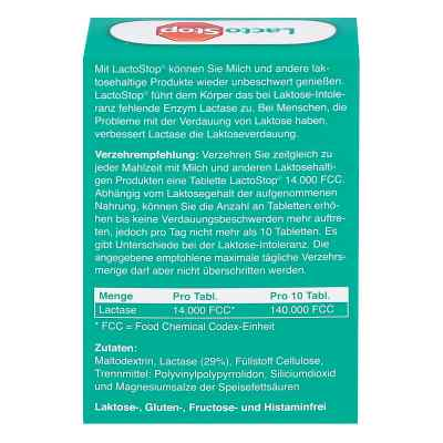 Lactostop 14.000 Fcc Tabletten im Spender  bei Apotheke.de bestellen