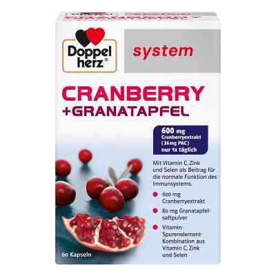 Doppelherz Cranberry + Granatapfel system Kapseln