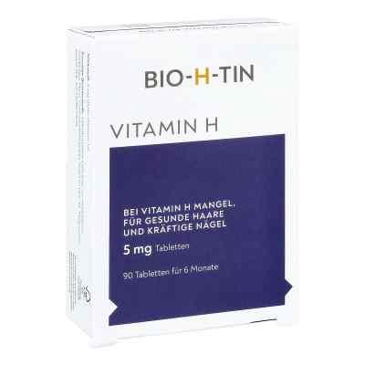 Bio-h-tin Vitamin H 5 mg für 6 Monate Tabletten  bei Apotheke.de bestellen