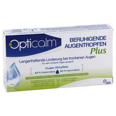 Opticalm beruhigende Augentropfen Plus in Einzeld.  bei Apotheke.de bestellen