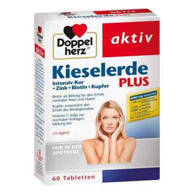 Doppelherz Kieselerde Plus Int.kur+zi.+bio.+cal.t.