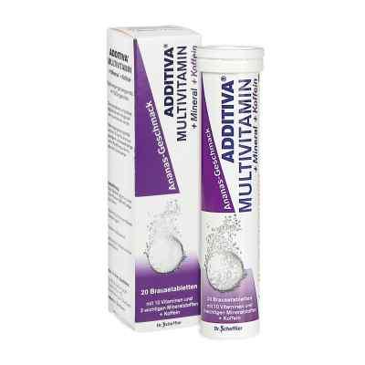 Additiva Multivit.+mineral+coff.ananas R Br.-tabl.  bei Apotheke.de bestellen