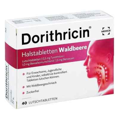 Dorithricin Halstabletten Waldbeere 0,5mg/1,0mg/1,5mg  bei Apotheke.de bestellen