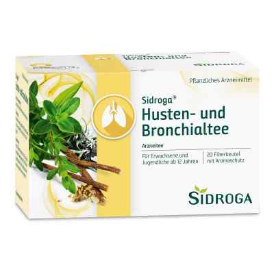 Sidroga Husten- und Bronchialtee Filterbeutel  bei Apotheke.de bestellen