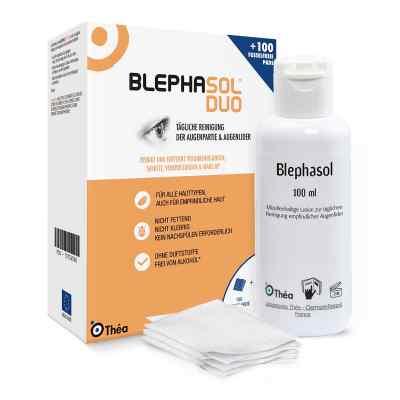 Blephasol Duo 100 ml Lotion+100 Reinigungspads  bei Apotheke.de bestellen