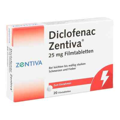 Diclofenac Zentiva 25mg  bei Apotheke.de bestellen