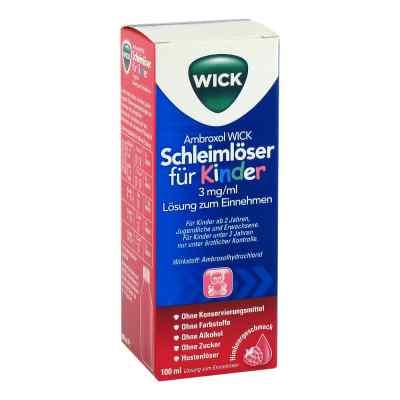 Ambroxol WICK Schleimlöser für Kinder 3mg/ml Lsg.z.Einn.  bei Apotheke.de bestellen