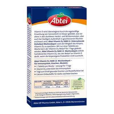 Abtei Vitamin D3 5.600 I.e. Wochendepot Tabletten  bei Apotheke.de bestellen