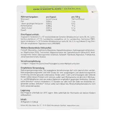Orthoflor Immun Kapseln  bei Apotheke.de bestellen