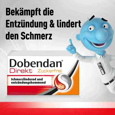 DOBENDAN Direkt Zuckerfrei bei Halsschmerzen  bei Apotheke.de bestellen