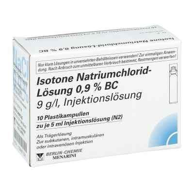Isotone Nacl Lösung 0.9% Bc Plastik amp.inj.-lsg.  bei Apotheke.de bestellen