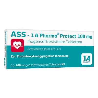 Ass 1a Pharma Protect 100 mg magensaftresistent Tabletten  bei Apotheke.de bestellen