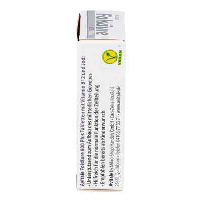 Folsäure 800 Plus B12+jod Tabletten  bei Apotheke.de bestellen