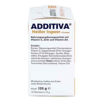 Additiva Heisser Ingwer+orange Pulver  bei Apotheke.de bestellen