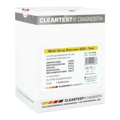 Cleartest Multi Drug Discreet Eco-test 5fach  bei Apotheke.de bestellen
