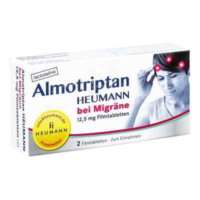 Almotriptan Heumann bei Migräne 12,5mg  bei Apotheke.de bestellen
