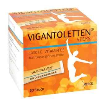 Vigantoletten 1.000 I.e. Vitamin D3 Sticks Orange