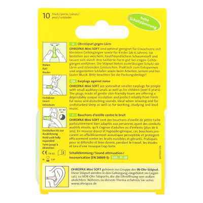 Ohropax mini soft Schaumstoff Stöpsel  bei Apotheke.de bestellen