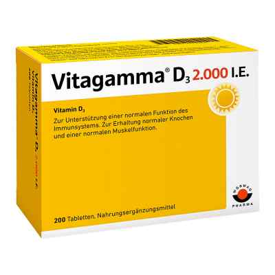 Vitagamma D3 2.000 I.e. Vitamin D3 Nem Tabletten  bei Apotheke.de bestellen