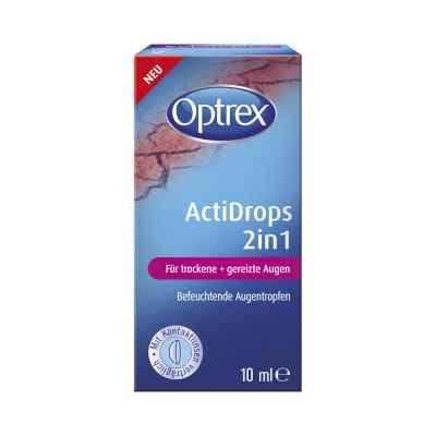 Optrex Actidrops 2in1 für trockene+gereizte Augen  bei Apotheke.de bestellen